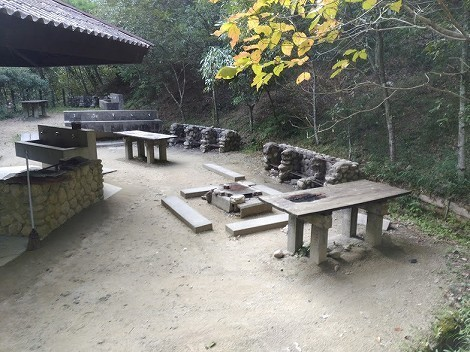 「そうめん滝キャンプ場」を視察  [兵庫県姫路市]