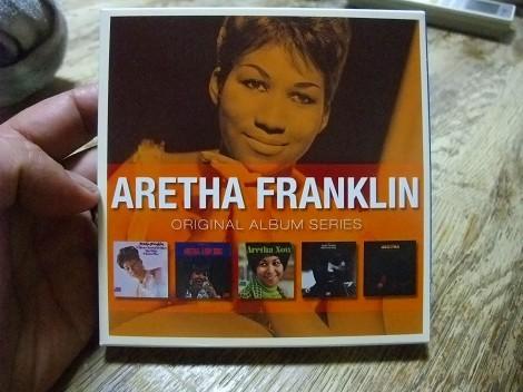 アレサ・フランクリン  5CD ORIGINAL ALBUM SERIES BOX SET