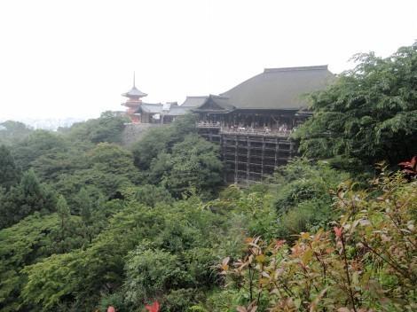 音羽山 清水寺 清水の舞台