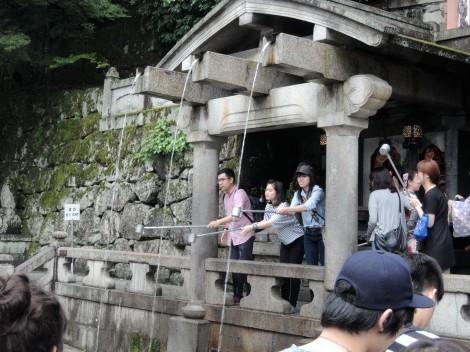 音羽山 清水寺 音羽の滝