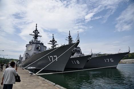 海上自衛隊舞鶴基地 北吸桟橋
