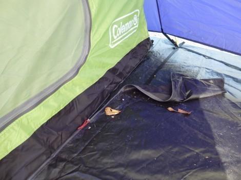 武嶋キャンプ場で初のソロキャンプ