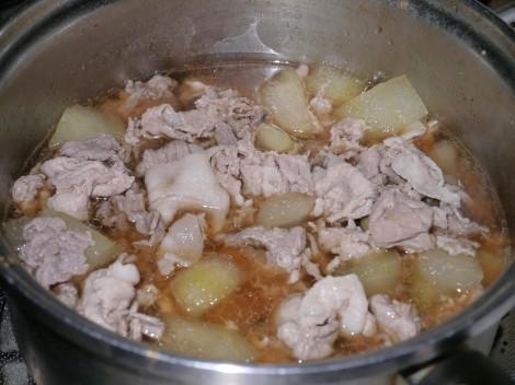 冬瓜の中華風煮